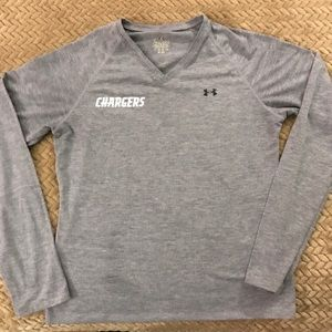 Ladies Under Armour CHARGERS top